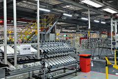 Auto parts plant royalty free stock photo