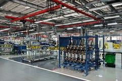 Auto parts plant stock photos