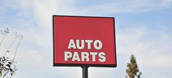 Auto Parts Sign Royalty Free Stock Photo