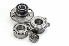 Auto Parts. Spare parts for the repair of cars. Bearings on a white background. Stock Image