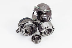 Auto Parts. Spare parts for the repair of cars. Bearings Stock Photo