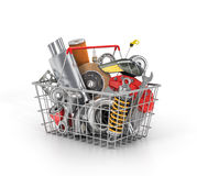 Auto parts store. Royalty Free Stock Images