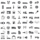 Auto pictogrammen Royalty-vrije Stock Foto's