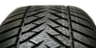 Auto pneu isolado Fotos de Stock