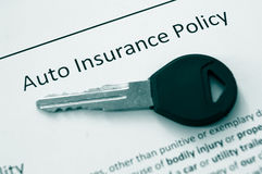 Auto policy Royalty Free Stock Photos