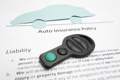 Auto policy Royalty Free Stock Images