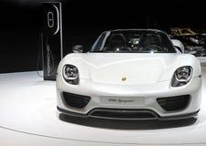 Auto Porsche 918 Spyder royalty-vrije stock foto's