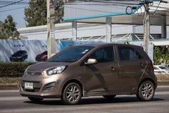 Auto privata, Kia Picanto K1, prodotto della Corea fotografia stock