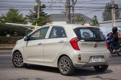 Auto privata, Kia Picanto K1, prodotto della Corea immagine stock