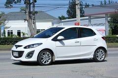 Auto privata, Mazda 2 Fotografia Stock