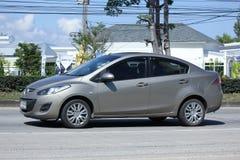 Auto privata, Mazda 2 Fotografie Stock Libere da Diritti
