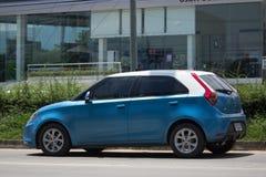 Auto privata, prodotto MG3 da automobilistico britannico immagini stock libere da diritti