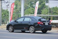 Auto privata, Toyota Corolla Altis fotografie stock