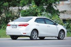 Auto privata, Toyota Corolla Altis fotografia stock