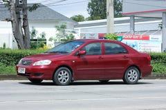 Auto privata, Toyota Corolla Altis fotografie stock libere da diritti