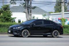 Auto privata, Toyota Corolla Altis immagini stock