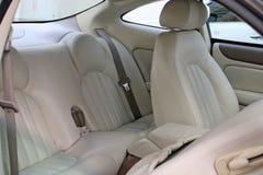 Auto-Rücksitze Innen Stockfoto