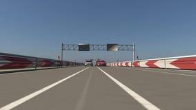 Auto racing Stock Image