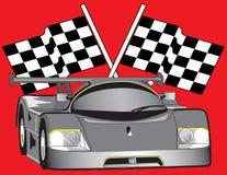 Auto Racing Car Stock Photography