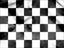 Auto Racing Chequered Flag. 3d Rendered Auto Racing Chequered Flag Royalty Free Stock Photography