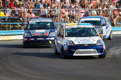Auto racing in the class Ford Royalty Free Stock Image