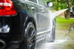 Auto-Reinigung lizenzfreie stockbilder