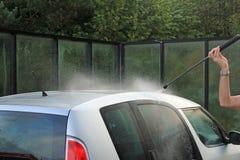 Auto-Reinigung Lizenzfreies Stockbild