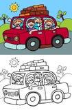 Auto-Reise Lizenzfreie Stockfotos