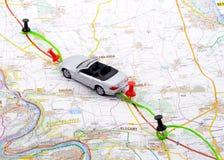 Auto-Reise Stockfoto