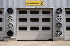 Auto remontowy sklep Fotografia Stock
