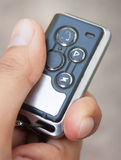 Auto remote key pressed Stock Photos