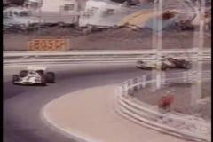 Auto-Rennen stock video