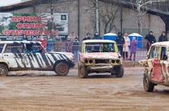 Auto-Rennen Stockfoto