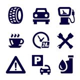 Auto and repair Royalty Free Stock Images