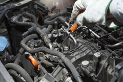 Auto Repair Royalty Free Stock Photo