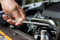 Auto Repair Concept Royalty Free Stock Images
