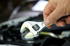 Auto repair concept. Professional car mechanic, auto repair concept Stock Images