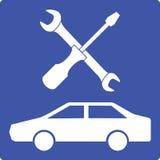Auto repair icon Royalty Free Stock Image