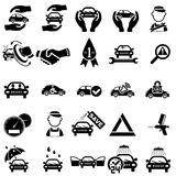Auto repair Icons Stock Photography