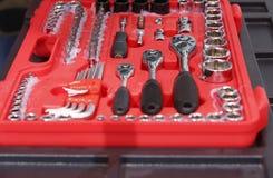 Auto repair kit Stock Photography