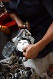 Auto repair service. royalty free stock photos