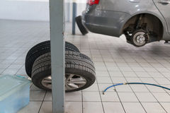 Auto repair service Stock Images
