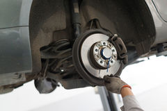 Auto repair service Royalty Free Stock Image