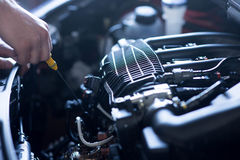 Auto repair service Stock Photos