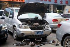 Auto repair Stock Photography