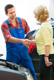 Auto repair shop Royalty Free Stock Photo
