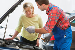 Auto repair shop Stock Images