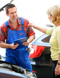 Auto repair shop Royalty Free Stock Images
