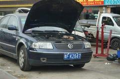 Auto repair shop Royalty Free Stock Photos