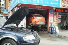 Auto repair shop Stock Photography